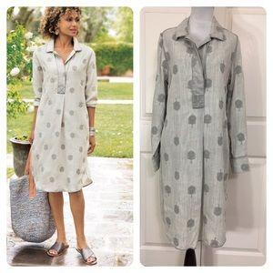 New! Soft Surroundings Paisley Park Dress